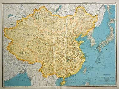 Standard Map of China and Japan 1936