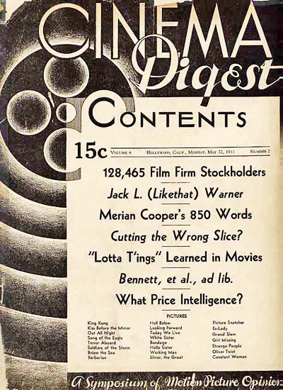 Cinema Digest Magazine
