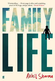 Family Life, signed by Akhil Sharma