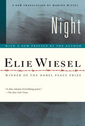 Night, signed by Elie Wiesel