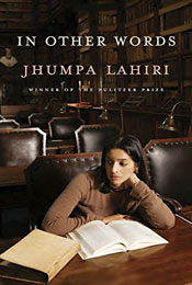 In Other Words, signed by Jhumpa Lahiri