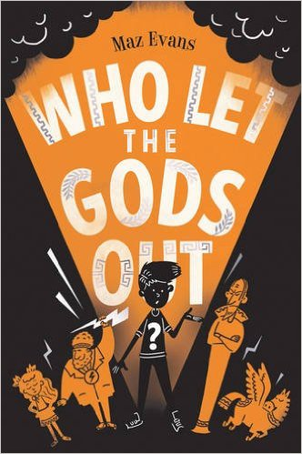 Discounted copies of Who Let the Gods Out? by Maz Evans