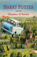 Discounted copies of Harry Potter and the Chamber of Secrets: Illustrated Edition by JK Rowling
