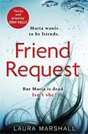 Discounted copies of Friend Request by Laura Marshall