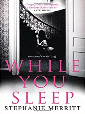 Discounted copies of While You Sleep by Stephanie Merritt