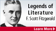 Read our first featured Legend of Literature - F. Scott Fitzgerald