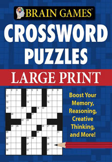 Crossword Puzzles Large Print
