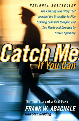 FRANK ABAGNALE SIGNED CATCH ME IF YOU CAN 2002 LARGE SCREENPLAY ILLUSTRATED BOOK