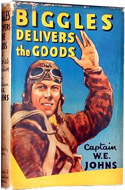 Biggles from the novels of Captain WE Johns