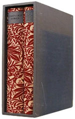 The Works by Geoffrey Chaucer. The Basilisk Press 1974 facsimile edition based on the 1896 Kelmscott Press edition