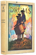 Drums by James Boyd, Illustrated by N.C. Wyeth