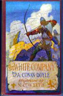 The White Company by Arthur Conan Doyle, Illustrated by N.C. Wyeth