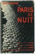 Paris de Nuit - Paris by Night by Brassai. Introduction by Paul Morand