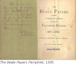 Beale Papers Pamphlet