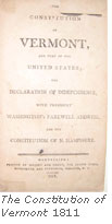The Constitution of Vermont, 1811