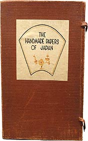The Handmade Papers of Japan by Thomas and Harriet R. Tindale