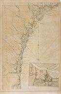 Chart of the Coast of Georgia and South Carolina - 1780