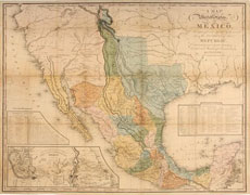 A Map of the United States of Mexico - 1846