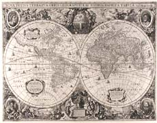 The World and Continents - Five Maps -1649