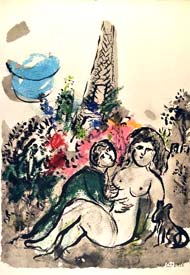 Couleur Amour by Marc Chagall