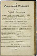 A Compendious Dictionary of the English Language - Noah Webster, 1806