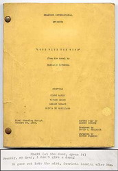 Gone With the Wind movie script