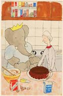 Babar's French Lessons by Laurent de Brunhoff