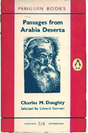 Passages from Arabia Deserta by Charles M. Doughty