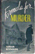 Formula for Murder by Adrian Reynolds