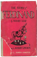 The Story of Ferdinand by Munro Leaf