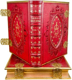 Holy Bible, photographs by Francis Firth