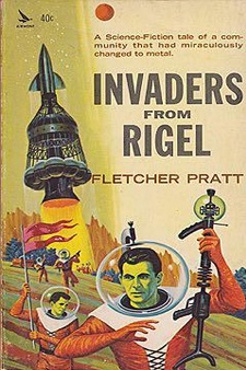 Invaders from Rigel by Fletcher Pratt