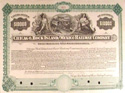 Railway registered bond