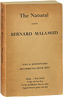 The Natural by Bernard Malamud