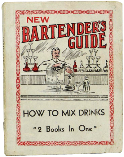 New Bartender's Guide: How to Mix Drinks by Harry Montague