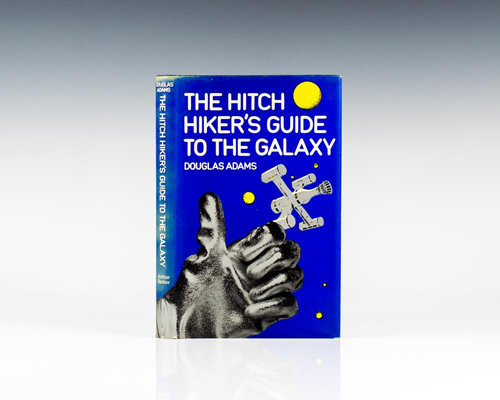a literary analysis of the hitch hikers guide to the galaxy The first, developed by atatio, was called the hitchhiker's guide to the galaxy: vogon planet destructor it was a typical top-down shooter and except for the title had little to do with the actual story the second game, developed by tko software, was a graphical adventure game named the hitchhiker's guide to the galaxy: adventure game.