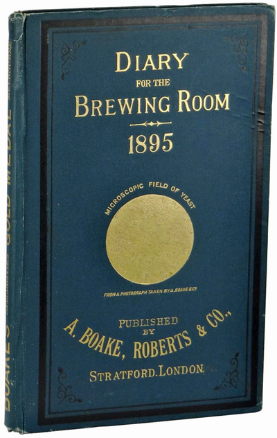 Diary for the Brewing Room by Harold Harmon