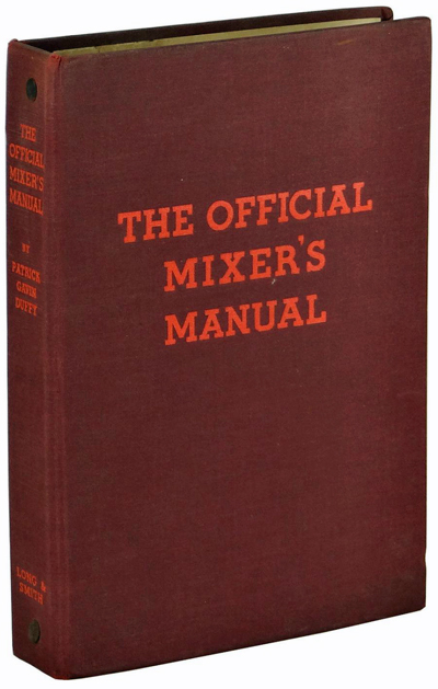 The Official Mixer's Manual by Patrick Gavin Duffy