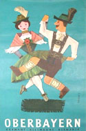 Vintage travel posters of Germany