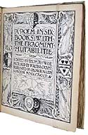 The Faerie Queene by Edmund Spenser & illustrated by Walter Crane