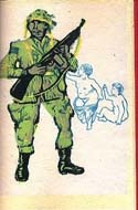 Histoire du Soldat by Kurt Vonnegut & illustrated by Michael Fallon