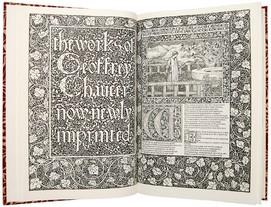 Works by Geoffrey Chaucer & illustrated Sir Edward Burne-Jones