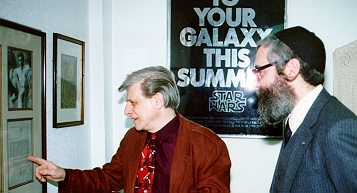 Barry Levin with Harlan Ellison