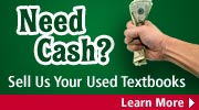 Sell your used textbooks for much-needed cash!