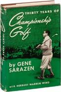 Thirty Years of Championship Golf by Gene Sarazen (1950)
