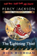 Percy Jackson & the Olympians series by Rick Riordan