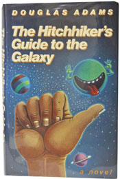 The Hitchhiker's Guide to the Galaxy by Douglas Adams (1979)