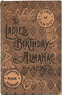 Ladies Birthday Almanac
