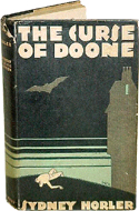 The Curse of Doone by Sydney Horler