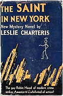The Saint in New York by Leslie Charteris